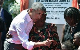 Obama visite son village au Kenya (photos & vidéos)