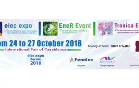 Casablanca accueille la 12e édition du salon Elec Expo du 24 au 27 Octobre