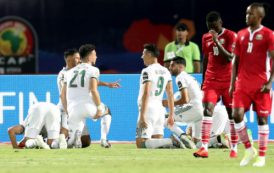 VIDEO – CAN 2019: l'Algérie s'impose face au Kenya (2-0)
