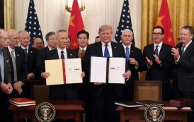 Les USA et la Chine signent un accord commercial