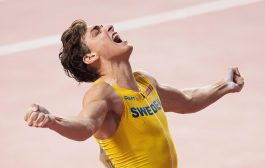 Athlétisme/ Perche :  Un second record pour Armand Duplantis