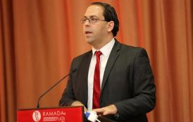 Youssef Chahed a son équipe