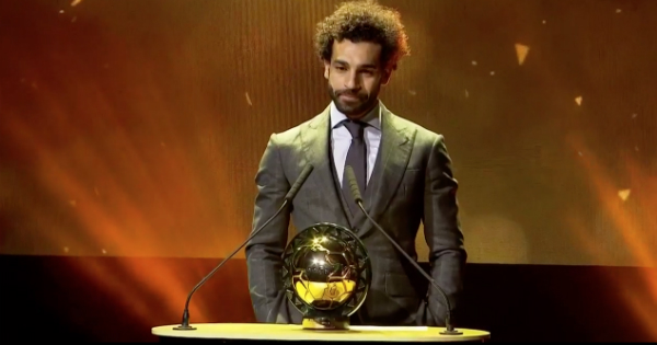 CAF Awards: Mohamed Salah sacré Ballon d'Or africain 2018